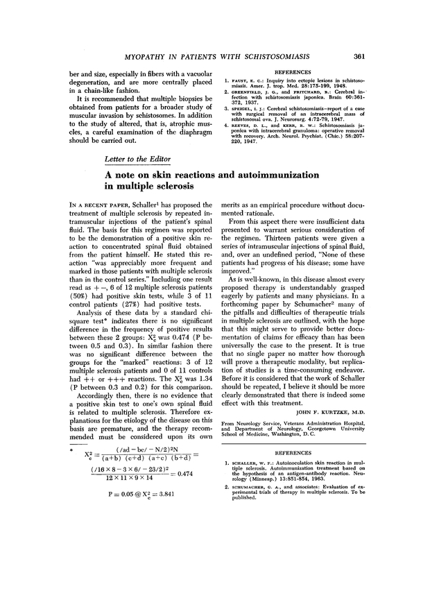 A note on skin reactions and autoimmunization in multiple