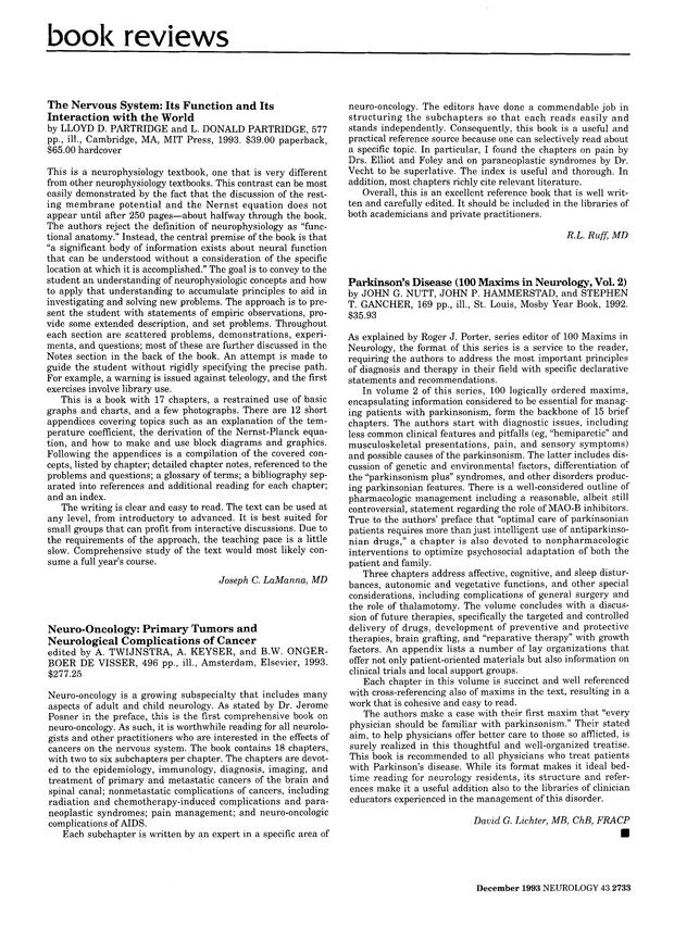 Neuro-Oncology (AAN)