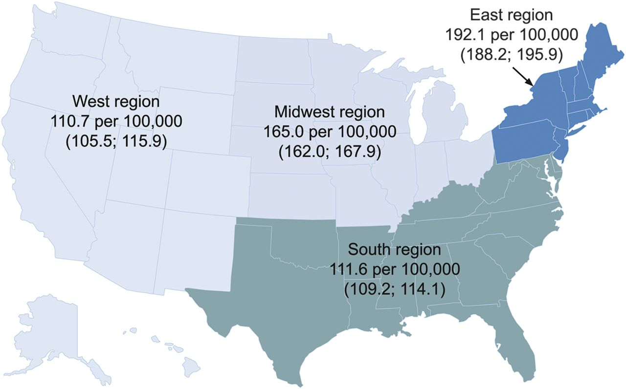 Outline Map Of Midwest States With Maps Update  Map Usa - Us map east west midwest