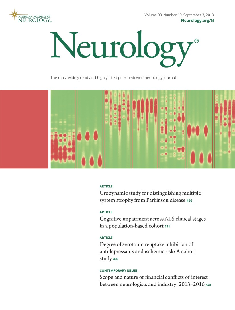 Cognitive impairment across ALS clinical stages in a