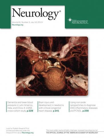 Neurology: 81 (3)