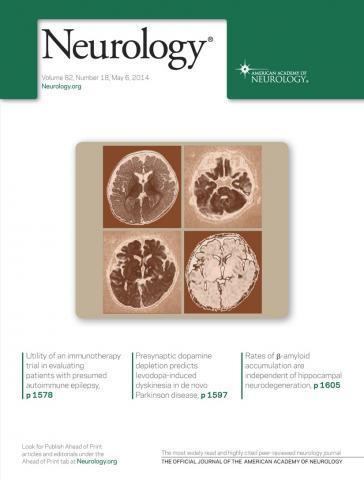 Neurology: 82 (18)