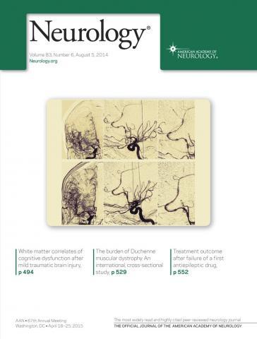 Neurology: 83 (6)