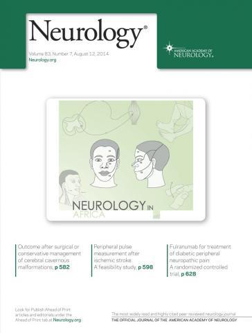 Neurology: 83 (7)