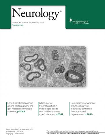 Neurology: 84 (20)