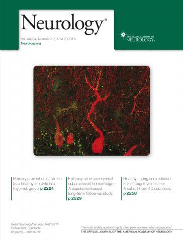 Neurology: 84 (22)