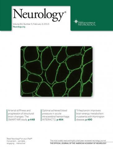 Neurology: 84 (5)