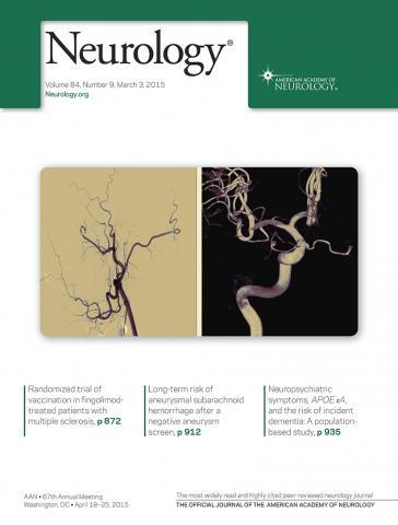 Neurology: 84 (9)