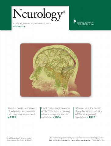 Neurology: 85 (22)