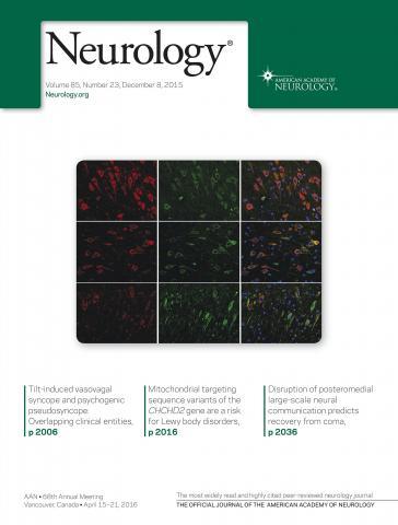 Neurology: 85 (23)