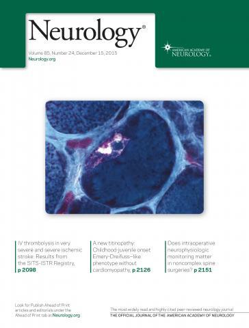 Neurology: 85 (24)