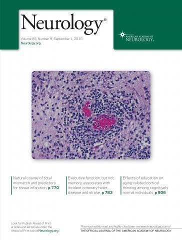 Neurology: 85 (9)