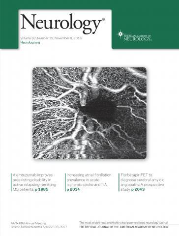 Neurology: 87 (19)