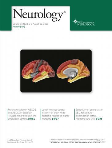 Neurology: 87 (9)