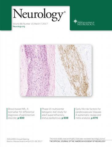 Neurology: 88 (10)