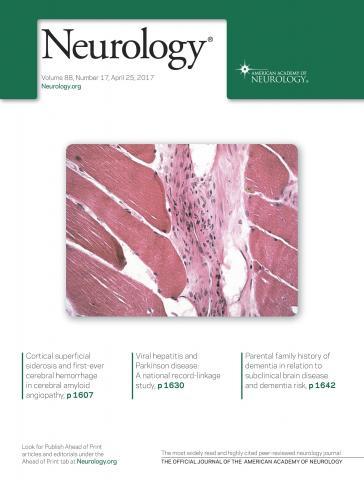 Neurology: 88 (17)