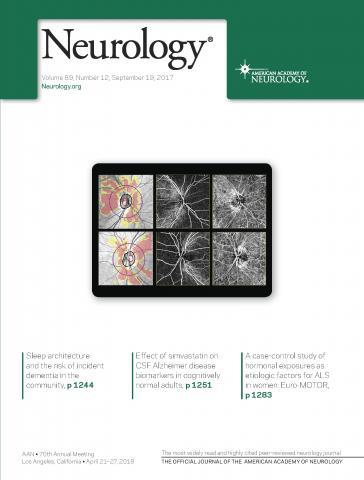 Neurology: 89 (12)