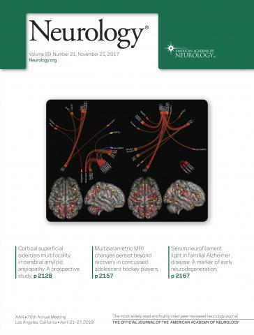 Neurology: 89 (21)