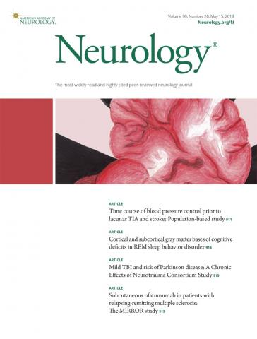 Neurology: 90 (20)