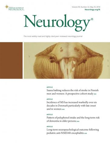 Neurology: 90 (22)