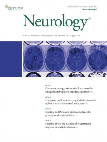 Neurology: 90 (7)