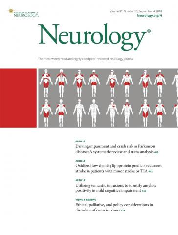 Neurology: 91 (10)