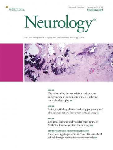 Neurology: 91 (13)