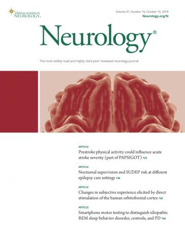 Neurology: 91 (16)