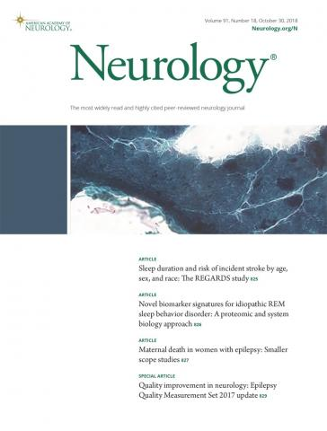 Neurology: 91 (18)