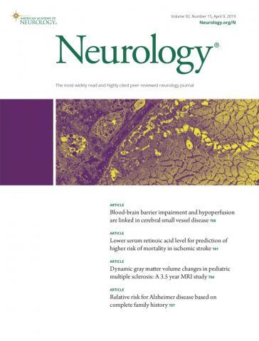 Neurology: 92 (15)