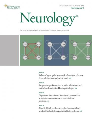 Neurology: 92 (16)