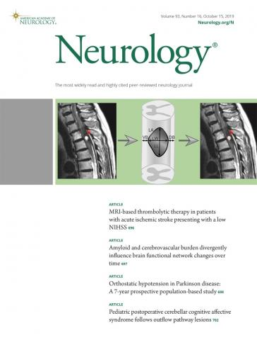 Neurology: 93 (16)