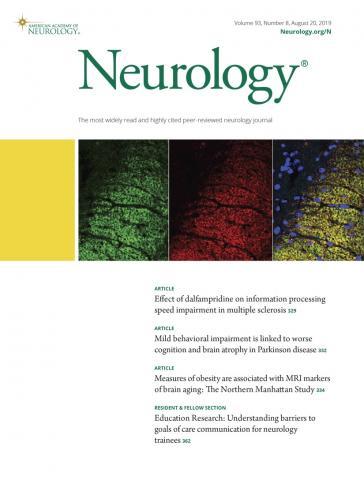 Neurology: 93 (8)