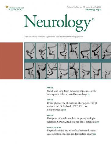 Neurology: 95 (13)