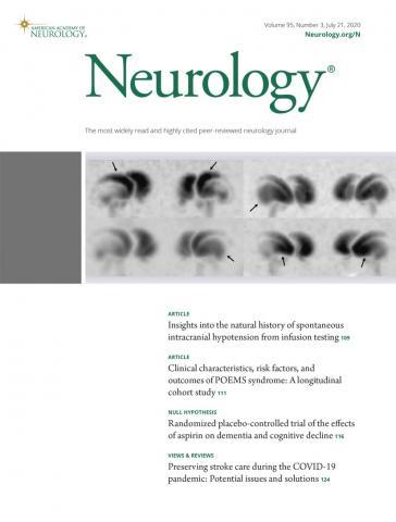 Neurology: 95 (3)
