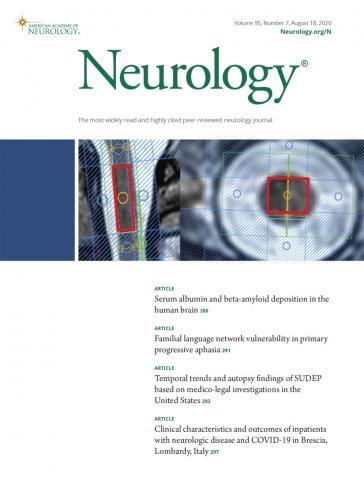 Neurology: 95 (7)