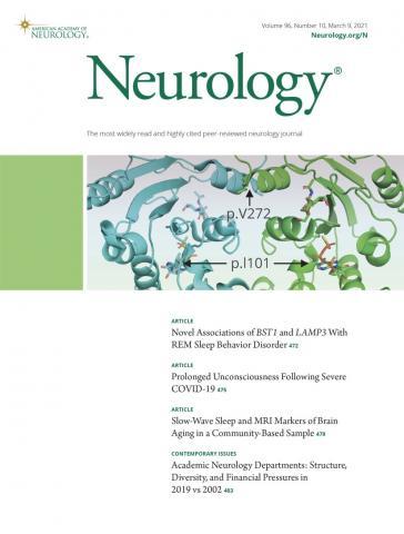 Neurology: 96 (10)