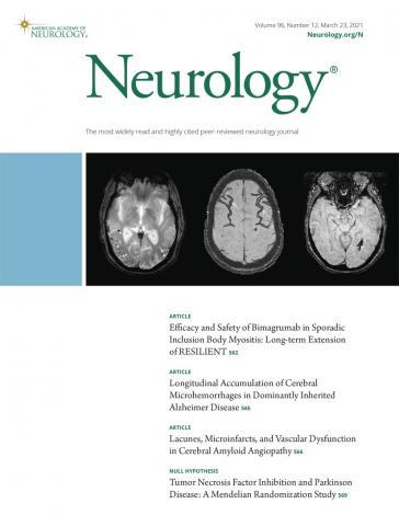 Neurology: 96 (12)