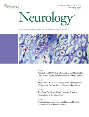 Neurology: 96 (19)