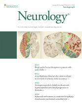 Neurology: 90 (11)