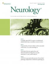 Neurology: 91 (12)