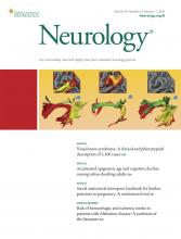 Neurology: 94 (6)