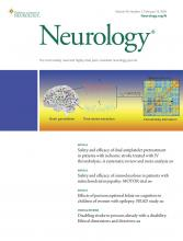 Neurology: 94 (7)