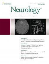 Neurology: 97 (11)