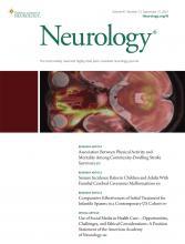 Neurology: 97 (12)
